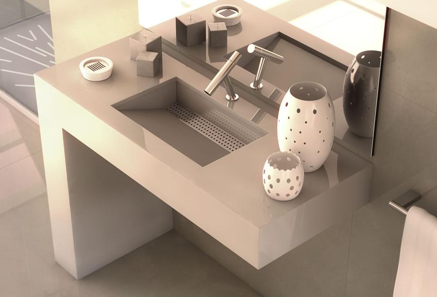 waschbecken reizvolle silestone waschbecken. Black Bedroom Furniture Sets. Home Design Ideas