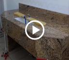Köln Juparana Classico Rio Granit Waschtisch
