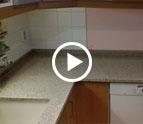 Granit Arbeitsplatten und Sockelleisten Padang Giallo TG-39