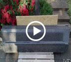 Köln Steel Grey Granit Treppen und Fensterbänke