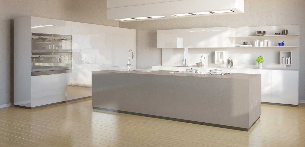 Silestone Nymbus - Küchenarbeitsplatten